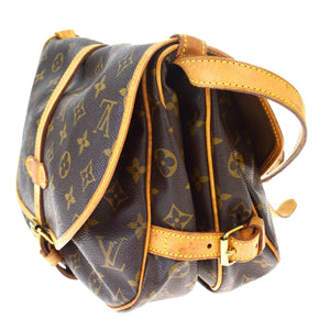 LOUIS VUITTON Monogram Saumur 30 at the real real