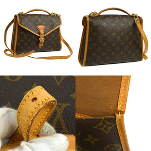LOUIS VUITTON Monogram Bel Air Satchel