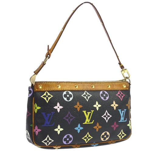 Louis Vuitton Black Multicolore Pochette