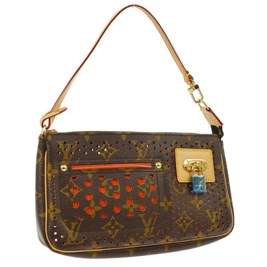 LOUIS VUITTON Monogram Perforated Pochette Accessoires
