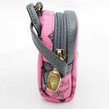 rare MCM Visetos Mini Backpack Key Chain