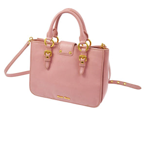 MIU MIU MADRAS 2WAY BAG