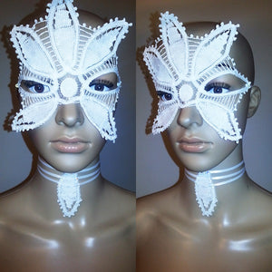 Do Art White Lace Mask