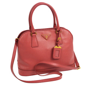 PRADA Medium Saffiano Lux Promenade Bag