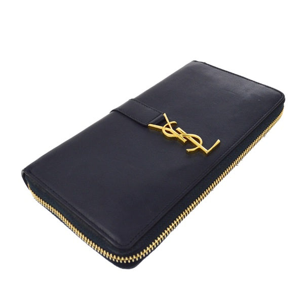 0743dada892b Yves Saint Laurent Zip-Around Leather Wallet – Luxury Boutique Italy