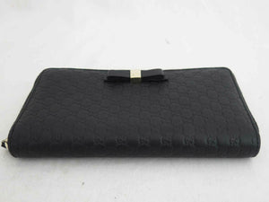 Gucci Guccissima Zip Around Wallet