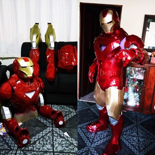 Do Art Iron Man VI,Costume Design