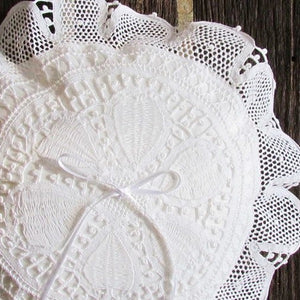 Ring Bearer Round Pillow Renaissance