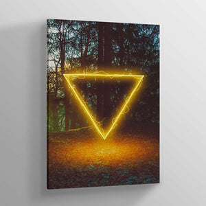 Forest Glow Canvas Print - Lumi Prints