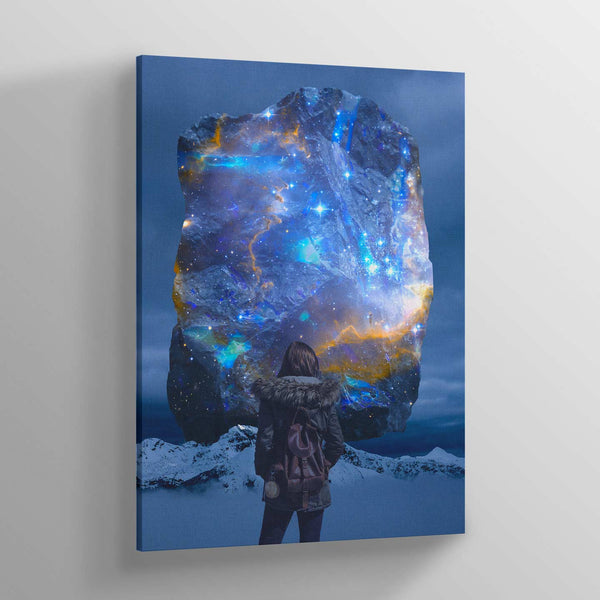 Lunarity Night and Day Canvas Print
