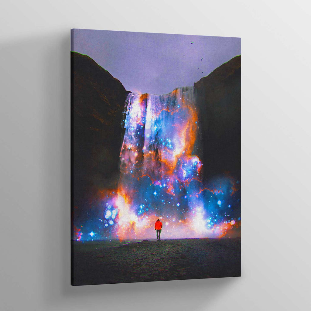 Cosmic Waterfall