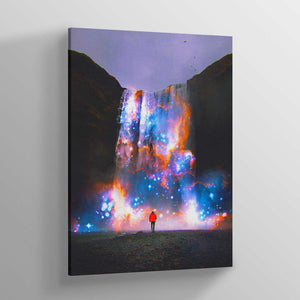 Cosmic Waterfall - Lumi Prints