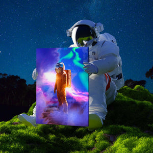 Astronaut Canvas Print - Lumi Prints