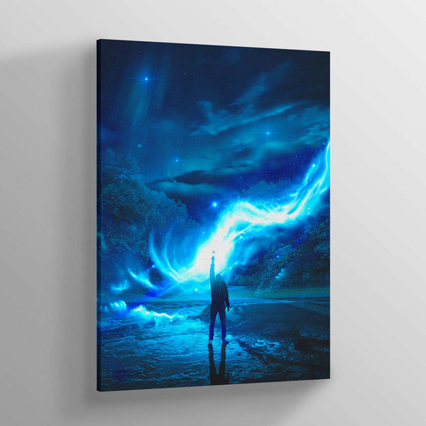 Light Grip Canvas Print