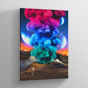Coloruption II Canvas Print - Lumi Prints