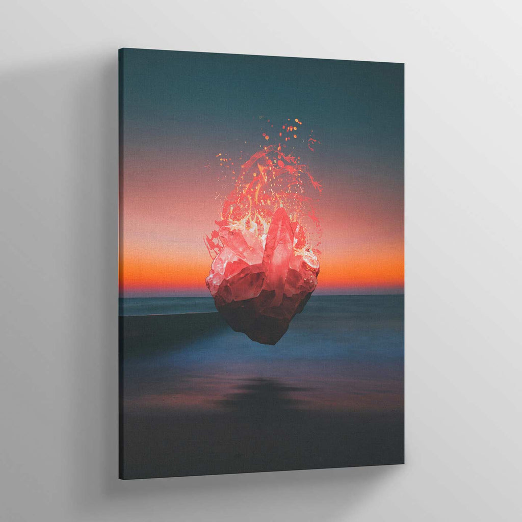 Fabian's Heart Canvas Print - Lumi Prints