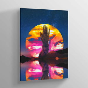 Hand of Destiny Canvas Print - Lumi Prints