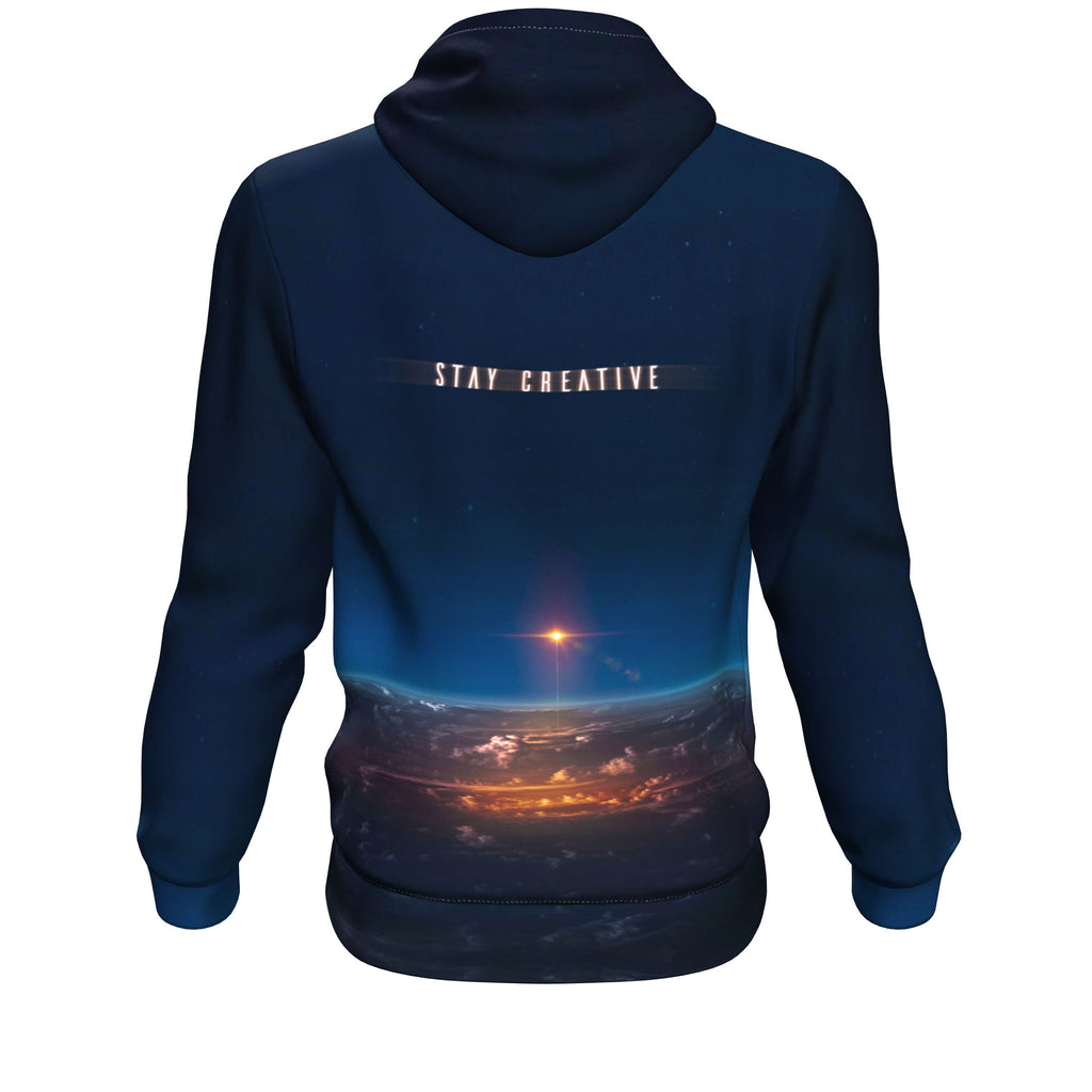 Stay Creative Pullover Hoodie - Lumi Prints