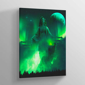 Mary Canvas Print - Lumi Prints