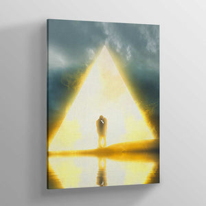 Lovers Canvas Print - Lumi Prints