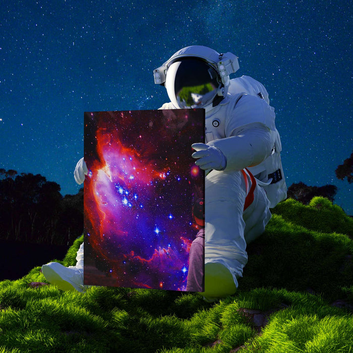 Galactic Canvas Print - Lumi Prints