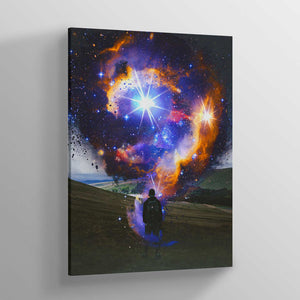 Galaxy Dimension Canvas Print - Lumi Prints