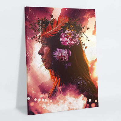 Serenity Canvas Print - Lumi Prints