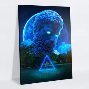 Zeus Canvas Print - Lumi Prints