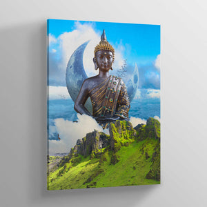 Meditate Canvas Print - Lumi Prints