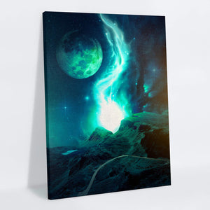 Meteor Canvas Print - Lumi Prints