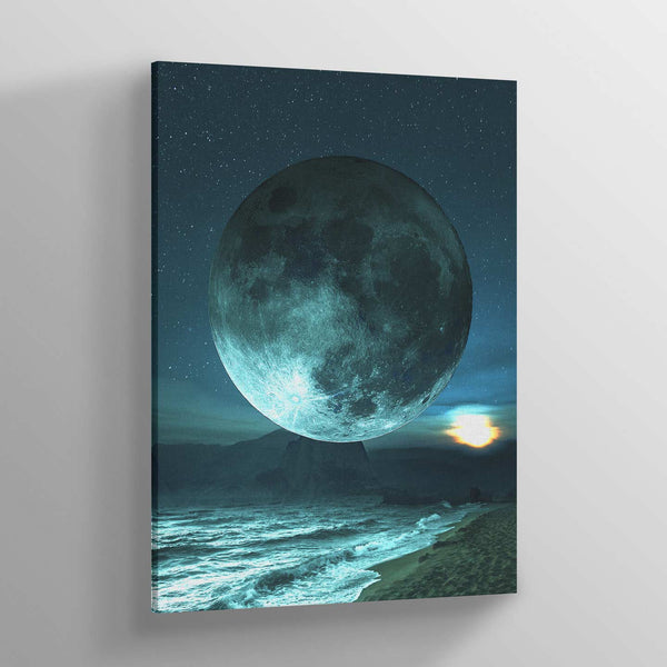 Moonchaser Canvas Print