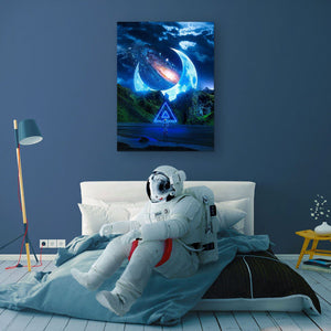 Moonlit Canvas Print - Lumi Prints