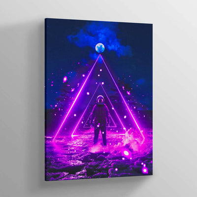 COSM Purple Canvas Print - Lumi Prints