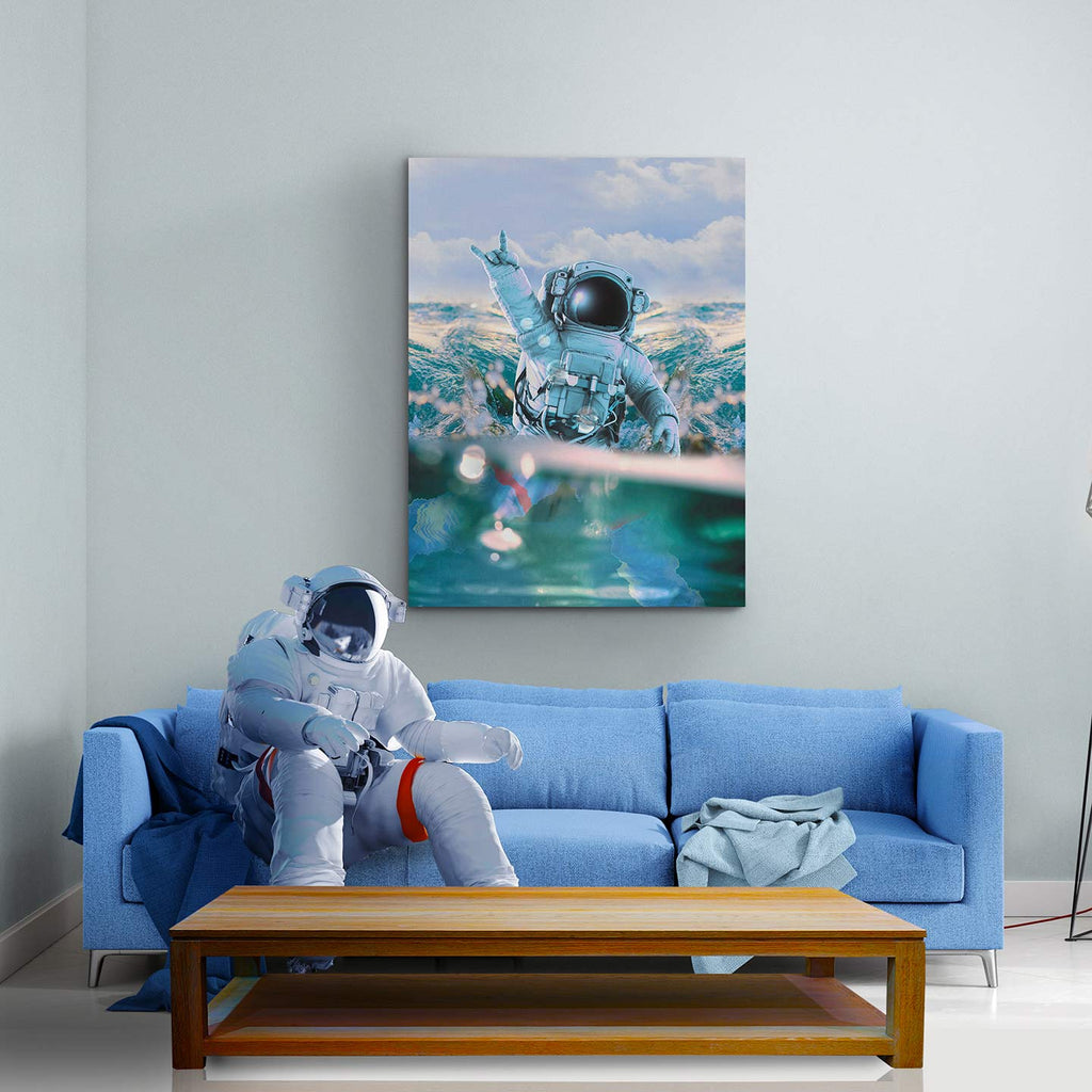 Astronautical Canvas Print - Lumi Prints