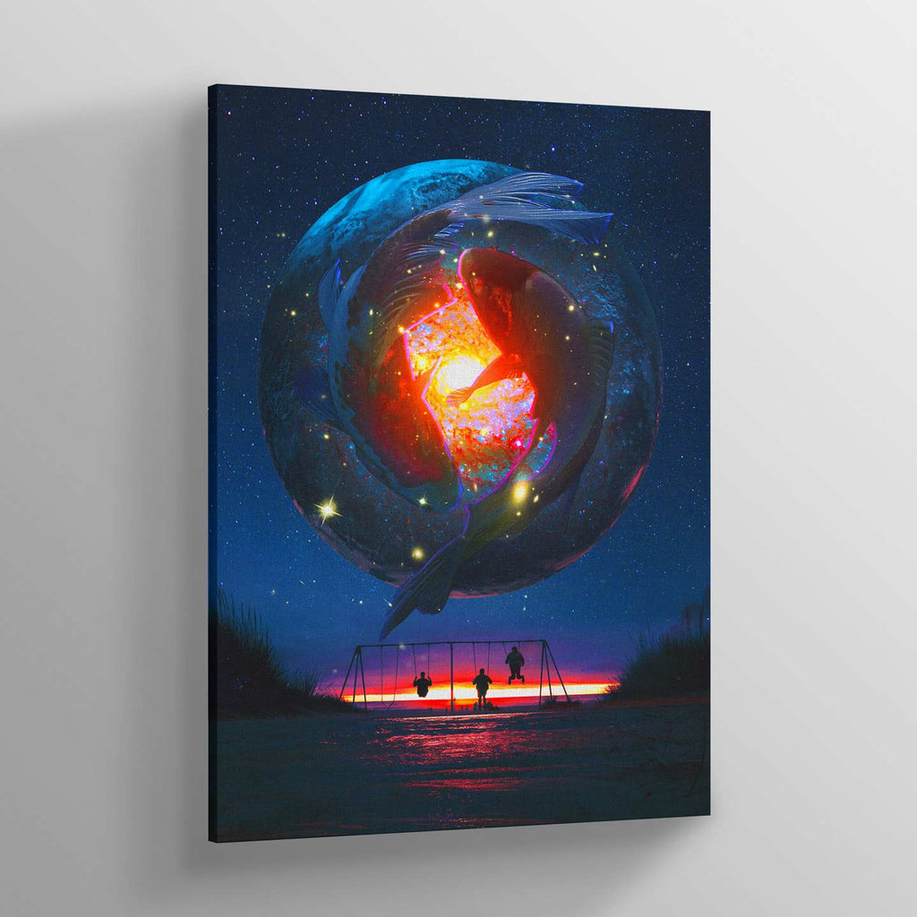 Balance Canvas Print - Lumi Prints