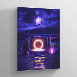 Vapor Canvas Print - Lumi Prints