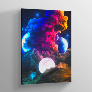 Coloruption Canvas Print - Lumi Prints
