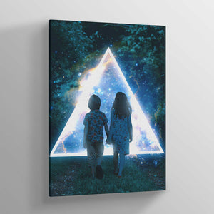 Together Canvas Print - Lumi Prints