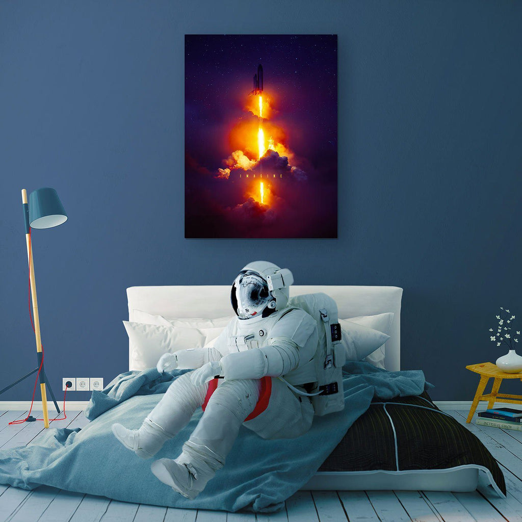 Imagine Canvas Print - Lumi Prints