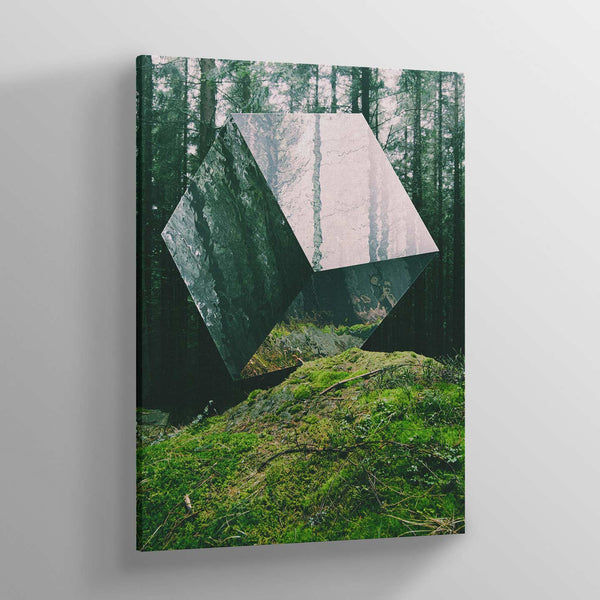 Forest Cube Canvas Print