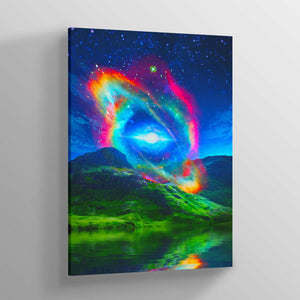 Singularity Canvas Print - Lumi Prints
