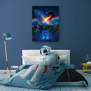 Cosmic Toybox Canvas Print - Lumi Prints