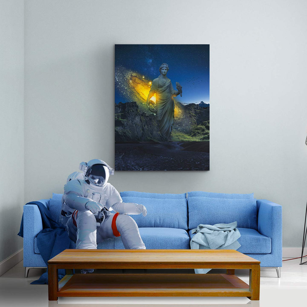 Celestial Antiquity Canvas Print - Lumi Prints