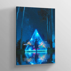 Night Canvas Print - Lumi Prints