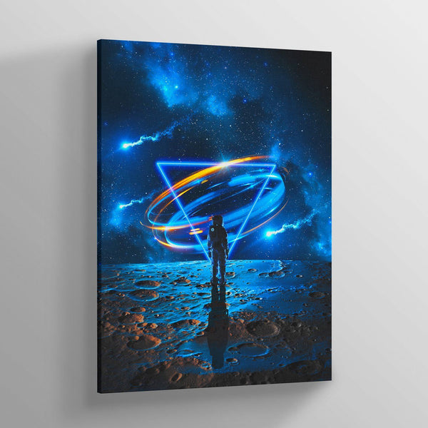 Craters Canvas Print