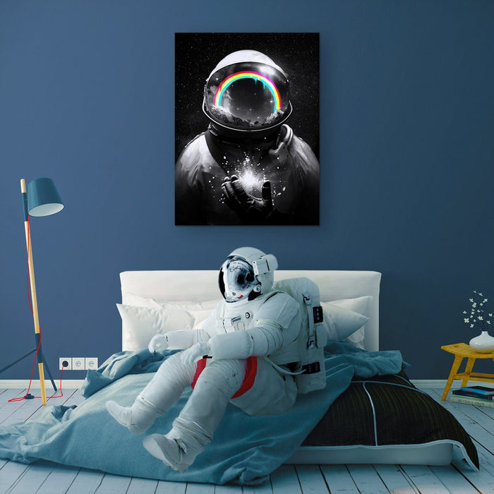Cosmic Hope Canvas Print - Lumi Prints