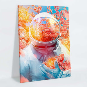 Sakuranaut Canvas Print - Lumi Prints