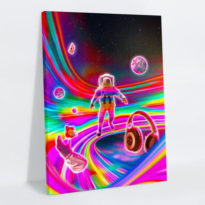 Rainglown Canvas Print - Lumi Prints