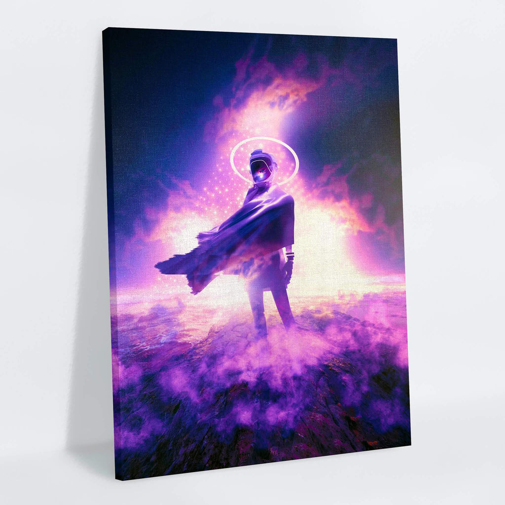 The Visitor Canvas Print - Lumi Prints