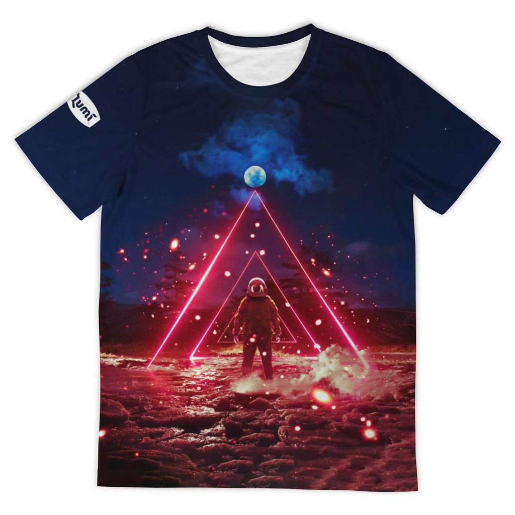 COSM Red Tee - Lumi Prints